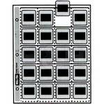 Vue-All 7060  35mm Slide Saver Archival Storage Page (Top Load, 100 Pack)