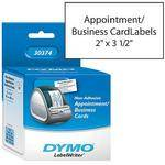 "Dymo Appointment/Business Cards (2 x 3 1/2"")"