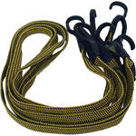 MultiCart RBC1 Black and Yellow Flex-Straps (Pack of 4)