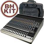 Mackie 1604-VLZ3 16-Channel Analog Audio Mixer with Bag