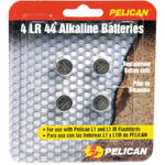 Pelican LR44 Coin Cell 1.5V Alkaline Battery (4-Pack)