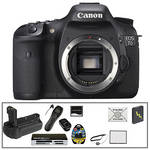 Canon EOS 7D SLR Digital Camera (Body Only) w/ Deluxe Accessory Kit