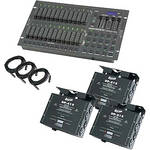Elation Control Stage Pak 2 Control Board and Dimmer Pack (120VAC)
