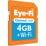 Eye-Fi 4GB SDHC Memory Card Connect X2 Wireless Class 6