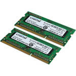 Crucial 4GB (2x2GB) SODIMM Laptop Memory Upgrade Kit