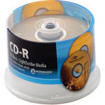 Microboards CDR-80, 52x LightScribe Discs(50 Pack Spindle)