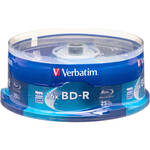 Verbatim BD-R Blu-Ray 25GB 6x  Discs (25 Pack Spindle)