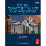 Focal Press Book/DVD: Digital Compositing for Film and Video by Steve Wright
