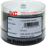 JVC JCDR-WPP-SB-WS Inkjet Watershield CD-R (White)