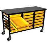 H. Wilson C183S18-PY Bin Workstation/Storage Unit