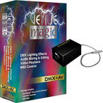 Venue Magic 2.1 Classic DMX + AV Control Software with Dongle