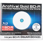 Delkin Devices Blu-ray 200 Year Disc with Inkjet Printable Surface - Single