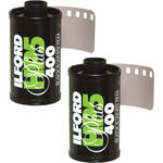 Ilford HP5 Plus 135-36 Black & White Print Film (Two Rolls)