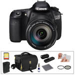Canon EOS 60D Digital SLR Camera with 18-200mm Lens & Basic Accessory Kit