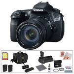 Canon EOS 60D Digital SLR Camera with 18-135mm Lens & Deluxe Accessory Kit