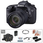 Canon EOS 7D Digital SLR Camera with 18-135mm Lens & Basic Accessory Kit