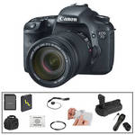 Canon EOS 7D Digital SLR Camera with 18-135mm Lens & Deluxe Accessory Kit