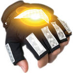 Brite-Strike Active Illumination Reflective Sport Gloves (Large)