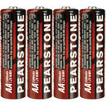 Pearstone AA NiMH Rechargeable Batteries (2300mAh, 4-Pk)