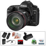 Canon EOS 5D Mark II Digital Camera & 24-105mm Lens with Basic Accessory Kit