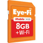 Eye-Fi 8GB Memory Card Mobile X2 Wireless Class 6