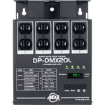 American DJ DP-DMX20L 4-Channel DMX Dimmer Pack