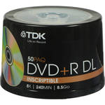 TDK DVD+R DL 8.5GB Disc (50)