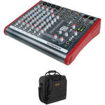 Allen & Heath ZED-10 Multi-Purpose Miniature Mixer and Bag Kit