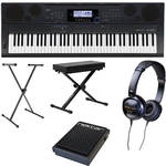Casio WK-6500 76-Key Keyboard Basics B&H Kit