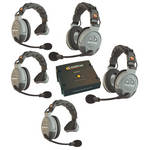 Eartec COMSTAR XT-5 5-User Full Duplex Wireless Intercom System
