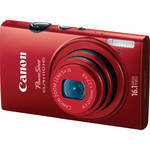 Canon PowerShot ELPH 110 HS Digital Camera (Red)