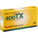 Kodak Professional Tri-X 120 Black & White Print Film (5 Pack)