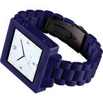 Hex Icon Watch Band for iPod nano Generation 6/7 (Purple)