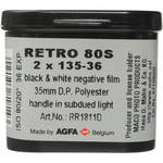 Rollei/AGFA Retro 80S 35mm Black and White Film (36 Exposure, 2 Pack)