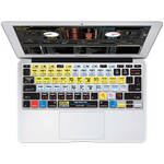 KB Covers Serato Scratch LIVE Keyboard Cover for MacBook Air 11-inch (Unibody, Black Keys) - ISO