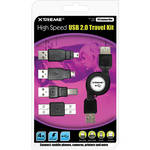 Xtreme Cables Retractable USB 2.0 Travel Kit