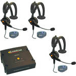 Eartec ComPAK Com-Center and Ultralite CS Headset System (3 Piece)