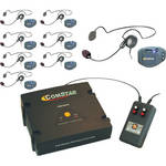 Eartec XT-Plus Com-Center with 8 COMPAK Headsets