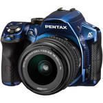 Pentax K30 Digital Camera with 18-55mm AL Lens Kit (Blue)