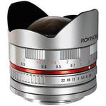 Rokinon 8mm f/2.8 UMC Fish-Eye Lens for Sony E-mount - Silver