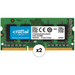 Crucial CT102464BF160B 16GB (2 x 8GB) 204-pin SODIMM, DDR3 PC3-12800 Memory Module B&H Kit