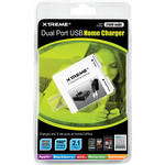 Xtreme Cables Dual Port USB Home Charger (White)