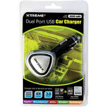 Xtreme Cables Dual Port USB Car Charger (Black)