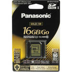 Panasonic 16GB SDHC Memory Card Gold Series Class 10 UHS-I
