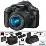 Canon Canon EOS Rebel T3 Digital Camera w/18-55mm f/3.5-5.6 IS II Lens Deluxe Kit