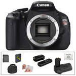 Canon Canon EOS Rebel T3i Digital Camera Body Deluxe Kit