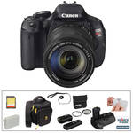 Canon Canon EOS Rebel T3i Digital Camera w/EF-S 18-135mm f/3.5-5.6 IS Lens Deluxe Kit