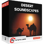 Big Fish Audio Desert Soundscapes DVD (WAV Format)