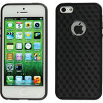 Xuma Patterned Flex Case for iPhone 5 (Black Edges / Black Rear)