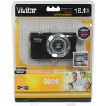 Vivitar ViviCam S830 Digital Camera (Black)